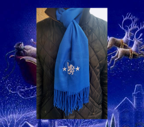 'Stars' cashmere scarf - product images  of