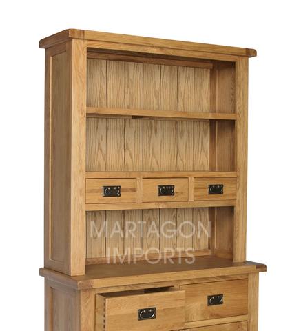 AshwellHutchforSmallSideboardashwell Oak Hutch Dresser Top Sideboard