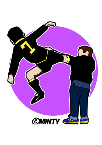 Cantona,kung,fu.....,print.....,cantona, kung fu kick, crystal palace,  illustration,football , casual, vespa, legend, music , one love, I shot the sherif.