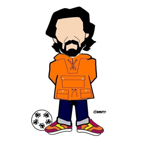 Pirlo.2.....,pin.....,pirlo, aguycalledminty, pin badge , legend , football  ,italy , legend