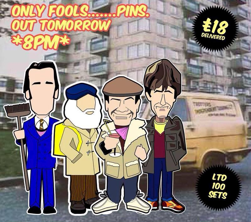 Only fools and horses.... pin set..... - product images  of