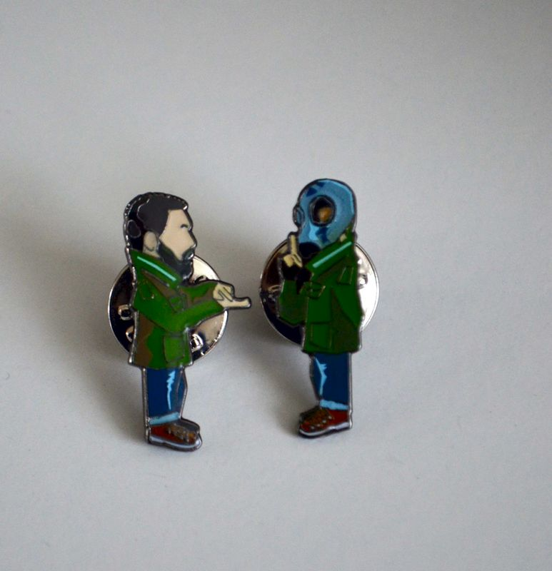 Dead Man Shoes pin badge.....