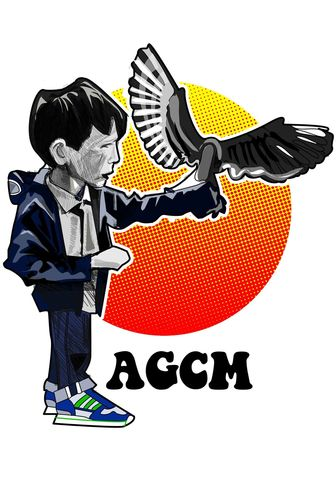 kes.2,...........,Print..,Kes , billy Casper , Quadrophenia , music , the who , mod , rockers , Vespa , lambretta ,   fighting , , manchester , illustration ,design , print , aguycalledminty