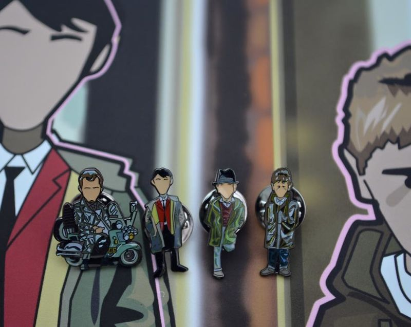 Quadrophenia pin set.. - product images  of