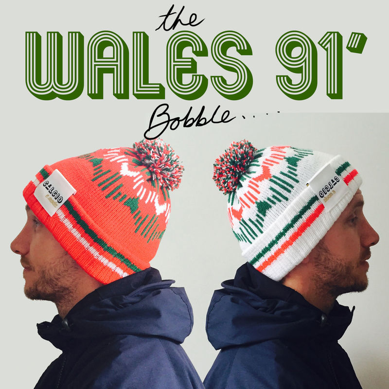 WALES 91' Bobble WHITE preorder  - product images  of