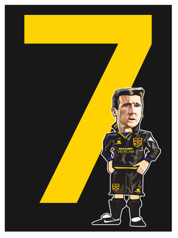 Cantona 7  Print.  - product images