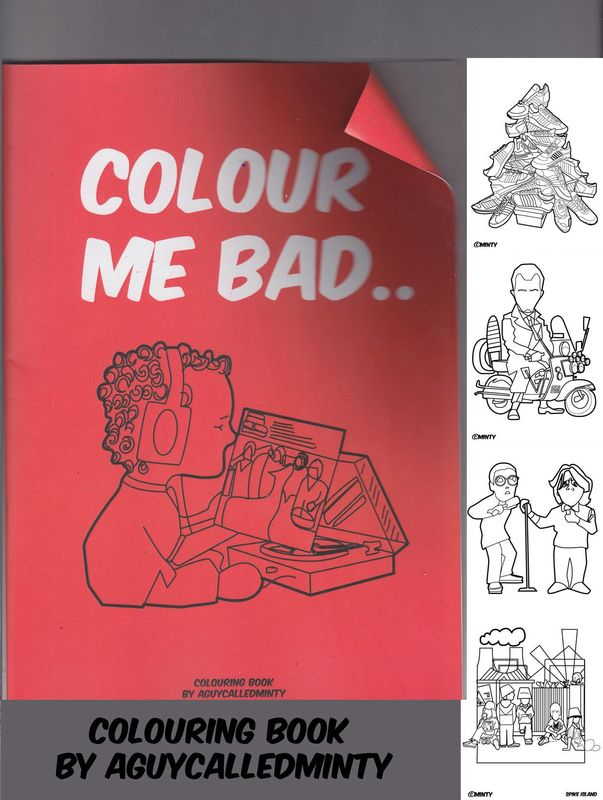 AGCM  Colouring Book - A4 - 28 page - product images  of