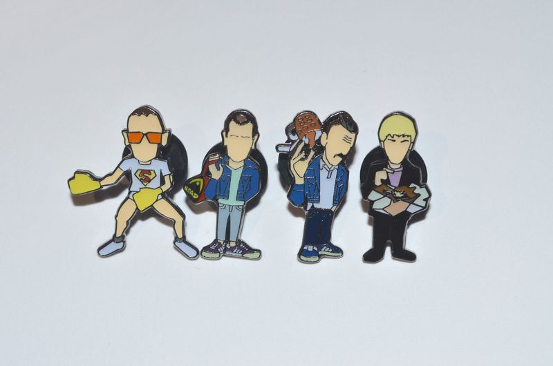 Trainspotting  mk 2 pin set Limited Edition - product images