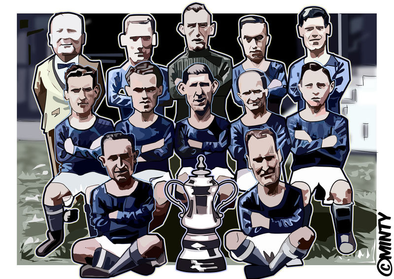 Cardiff City 1927 Print.  - product images  of
