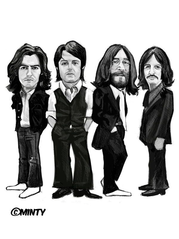 Beatles  Print.  - product images