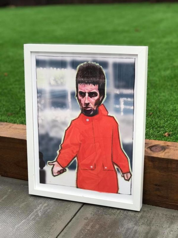Liam Gallagher one love Manchester Print.  - product images  of