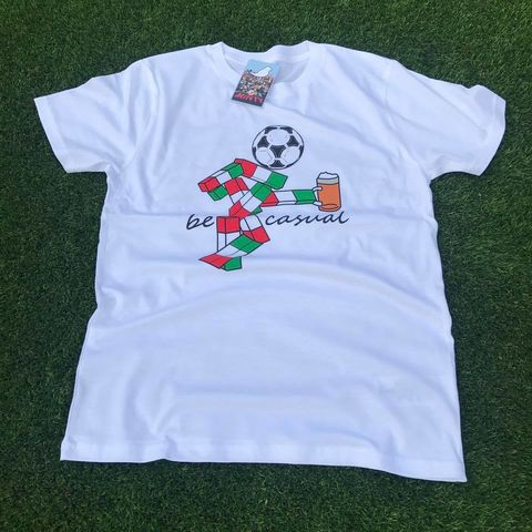 Ciao,Be,Casual,T-shirt,Ciao , Italia 90 , football , world cup 1990 , italy ,Twin Town factory records, madchester, aguycalledminty, art, illustration, tony wilson, FAC51