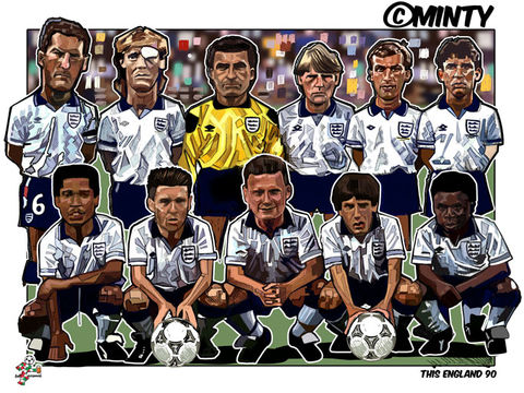 England,90,Print.,this is England , Italia 90 , football World Cup   , Football , football league , illustration , design , be casual