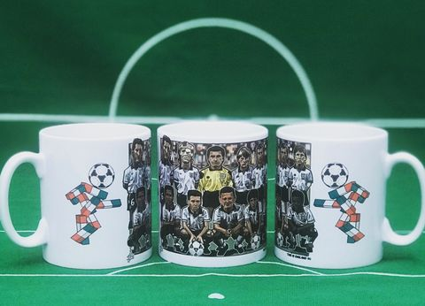 This,is,England,90,Mint,Tea,MUG,gazza , paul gasgoigne , Tottenham , Lazio ,newcastle united , football ,artwork ,mug , team , tea mug.