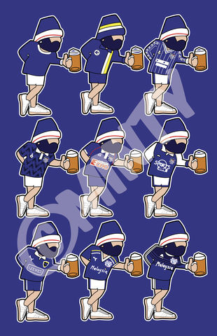 BE,CASUAL,CCFC,kit,Print.,Glasgow rangers , rangers  , Football , football league , illustration , design , be casual