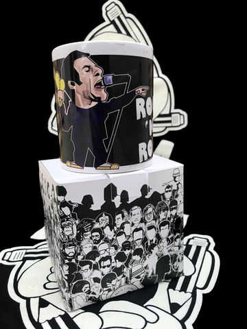 LG,Shadow,Mint,Tea,MUG,Liam Gallagher , Oasis , stone island , shadow project , mug  , Tottenham , Lazio ,newcastle united , football ,artwork ,mug , team , tea mug.