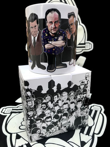 Sopranos,Mint,Tea,MUG,Sopranos , Tony Soprano  , shadow project , mug  , Tottenham , Lazio ,newcastle united , football ,artwork ,mug , team , tea mug.