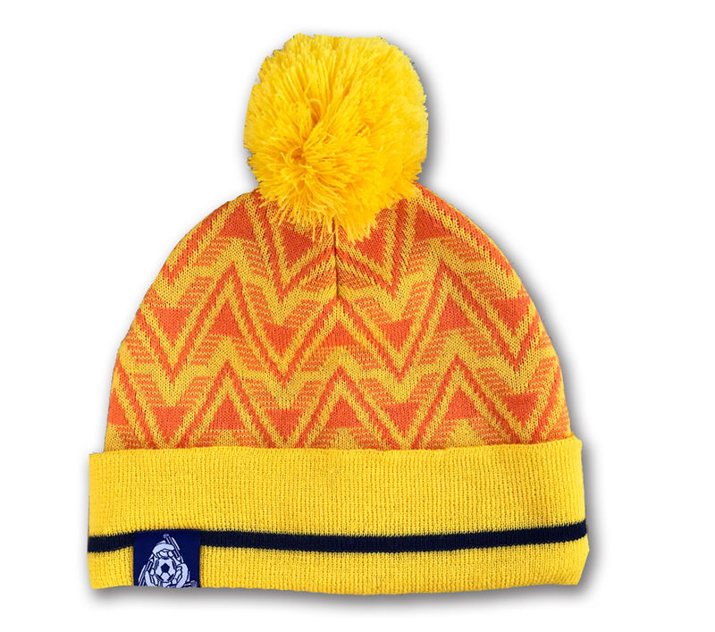 Cardiff City 91 AWAY Bobble hat - product images  of