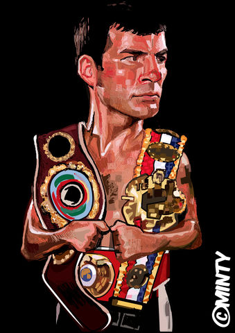 Calzaghe,print.......,joe calzaghe , boxing , Wales  , illustration , design , be casual