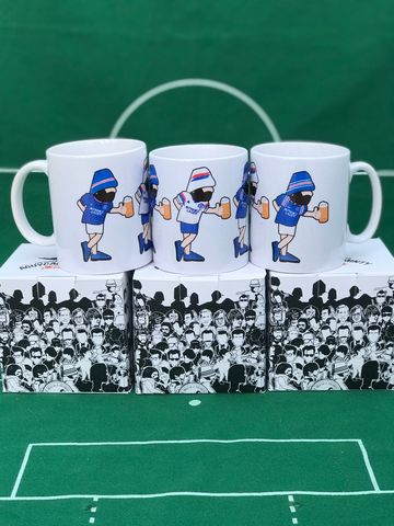 Rangers,Be,Casual,Mint,Tea,MUG,PREORDER,Rangers fc , Gers , Ibrox , Peaky Blinders , Tommy Shelby   , shadow project , mug  , Tottenham , Lazio ,newcastle united , football ,artwork ,mug , team , tea mug.
