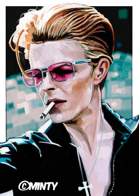 Bowie 18 print....... - product images