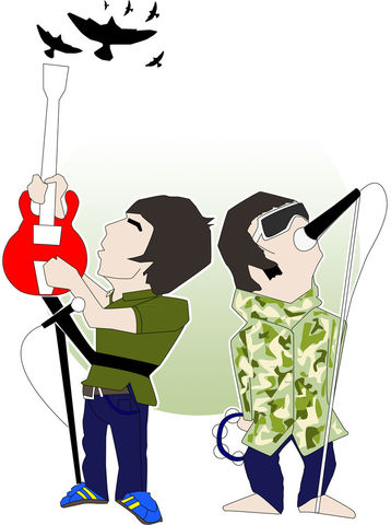 Liam,&,Noel,Brotherly,love,print....