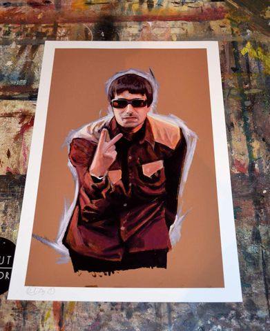 Liam,Gallagher,A3,print