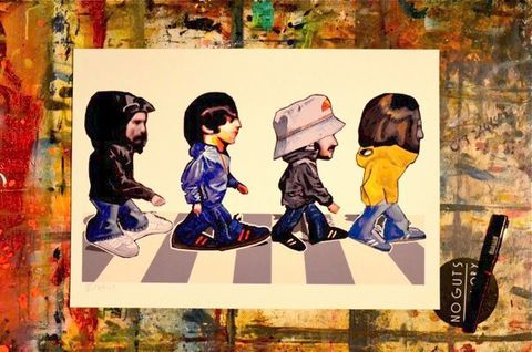 Abbey,Road,Casuals,Print