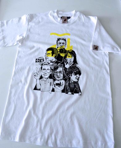 Factory,Inspired,Tee,White.,factory records, madchester, aguycalledminty, art, illustration, tony wilson, FAC51