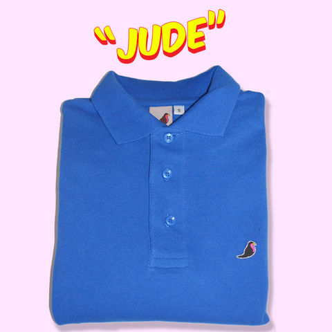 jude,Long,Sleeve,Polo........,Polo shirt, long sleeve polo shirt, aguycalledminty , brand , casual , football, fashion ,, terraces , hawk, logo, music