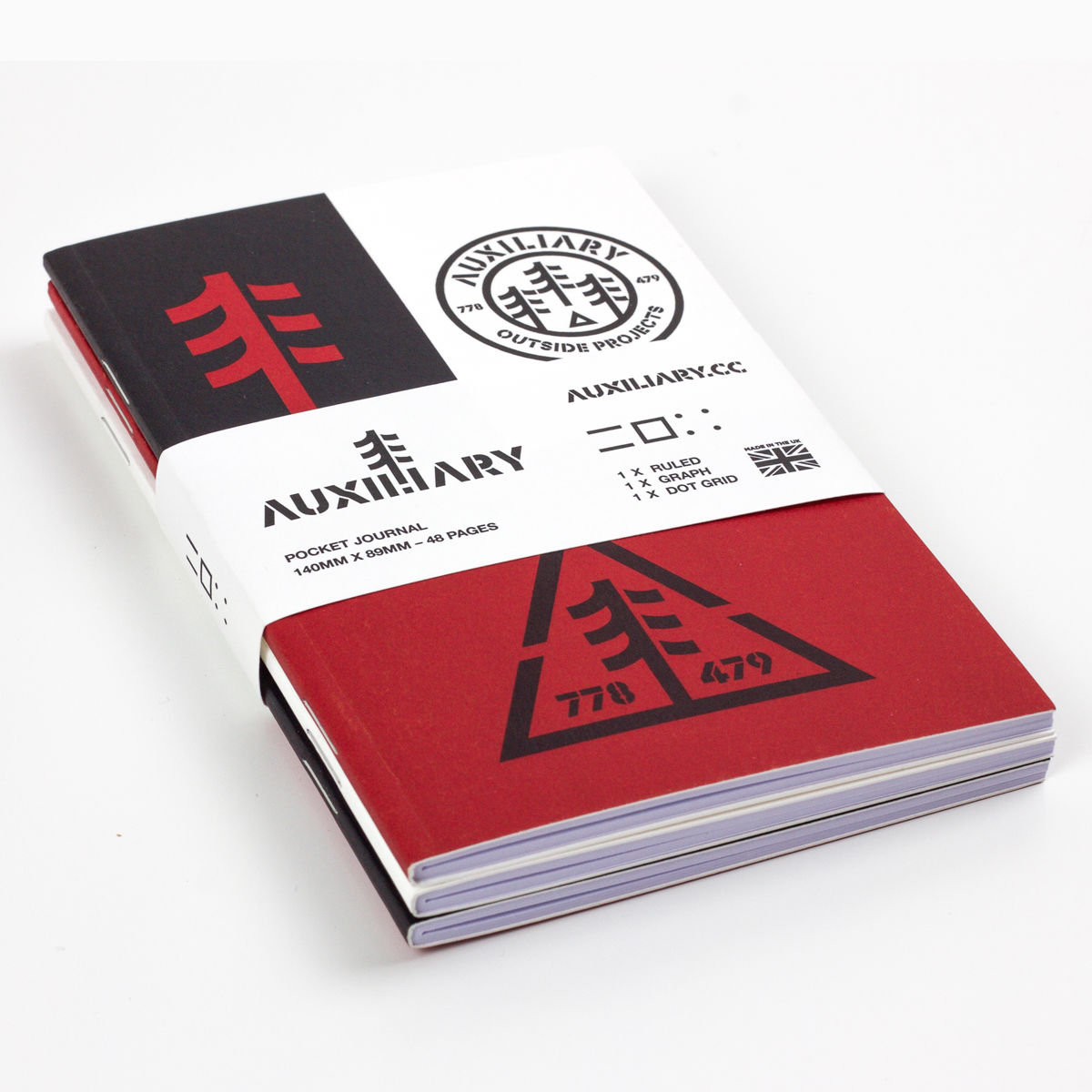 Auxiliary - Pocket Journal - product image