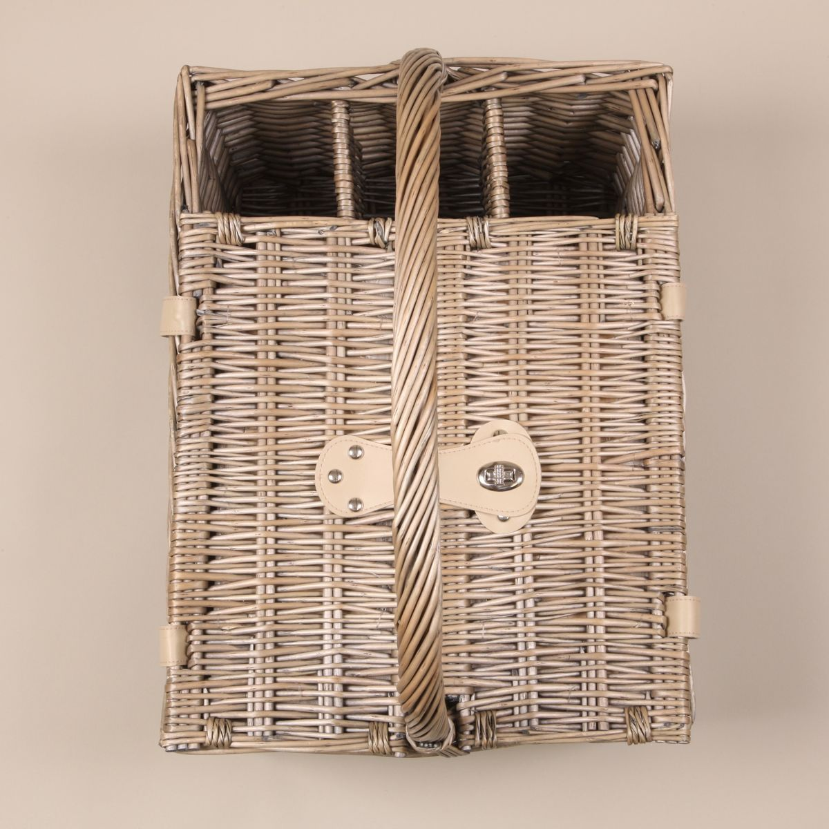 Personalised Four Person Picnic Basket - FREE GIFT WRAP & UK DELIVERY - product images  of