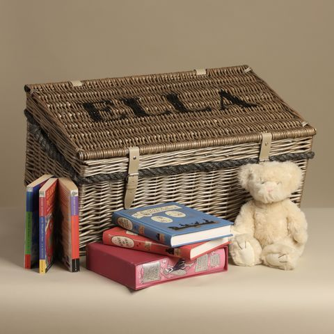 Personalised,Toy,Box,-,FREE,UK,DELIVERY,Christmas Gift, Toy Box, Personalised Toy Box, Wicker Toy Box