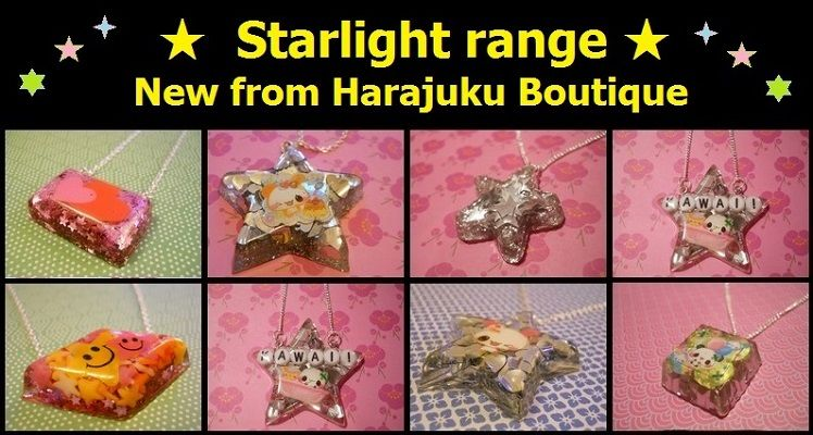 Harajuku Boutique's NEW ★ Starlight Range ★