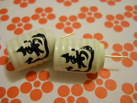 Japanese,Green,Tea,Cup,Earrings,harajuku kawaii tea cups kanji sushi japanese food drink stud earrings