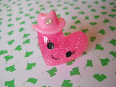 Pink,Glitter,Bow,Ring,harajuku kawaii pink glittery heart hat silver ring jewellery