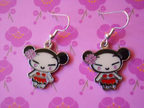 Red,Harajuku,Lovers,Earrings,harajuku kawaii red cute harajuku lovers drop earrings