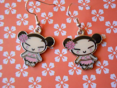 White,and,Pink,Harajuku,Lovers,Earrings,harajuku kawaii white pink cute harajuku lovers drop earrings