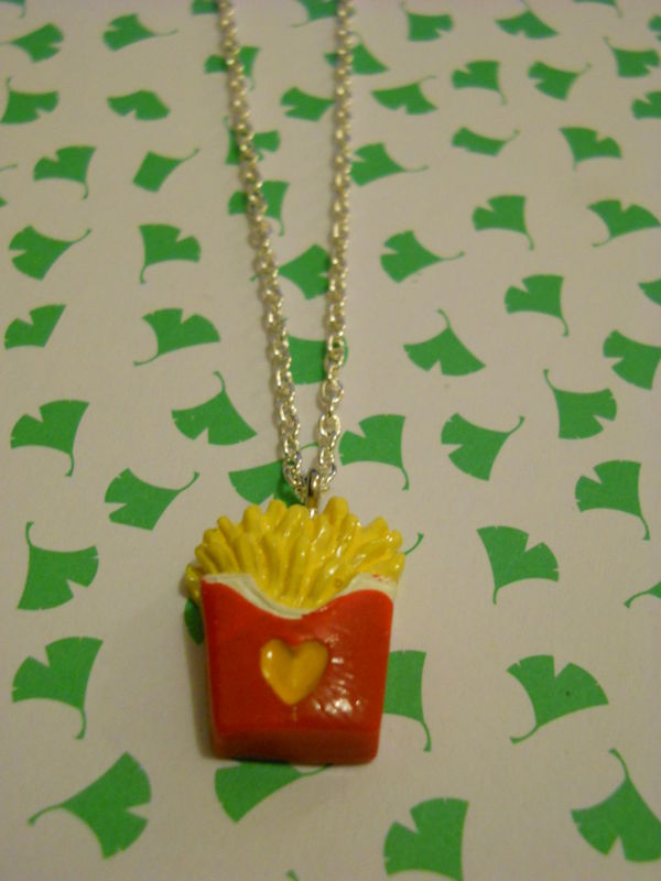 Fries Necklace - product images  of
