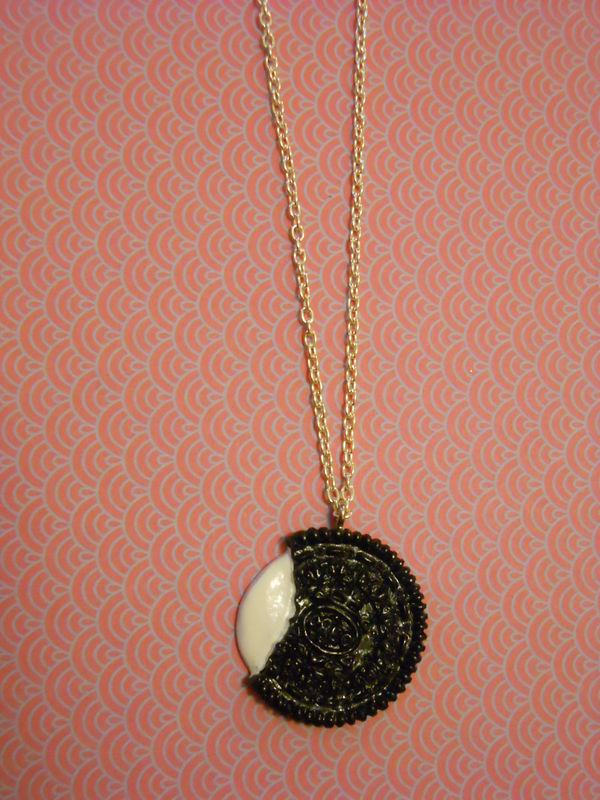 Oreo Biscuit Necklace - product images  of