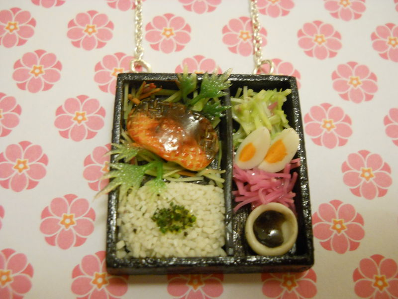Sushi Bento Box Necklace 1 - product images  of