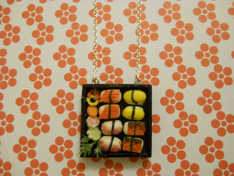 Sushi Bento Box Necklace 2 - product images  of