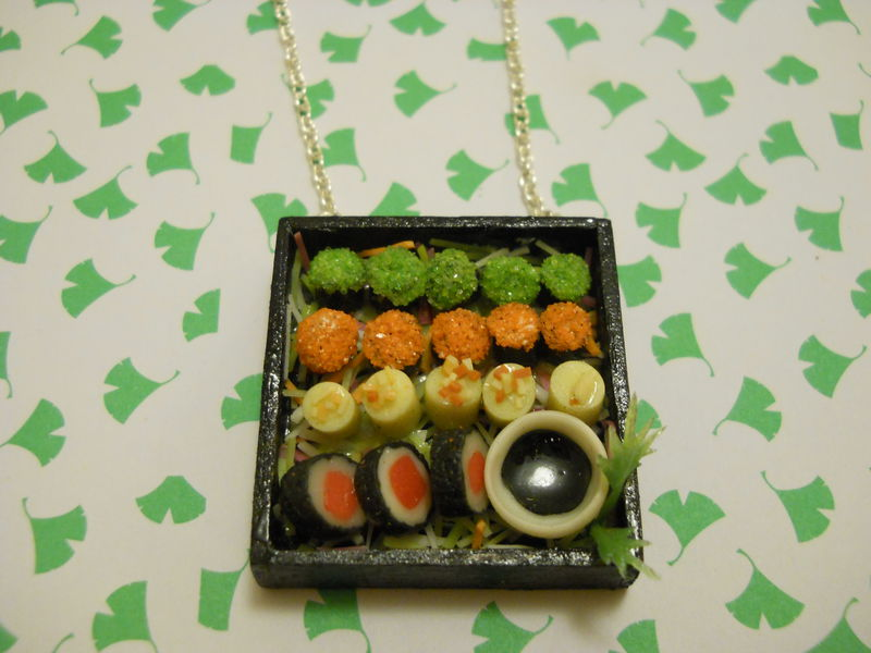 Sushi Bento Box Necklace 3 - product images  of