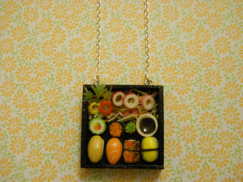 Sushi Bento Box Necklace 4 - product images  of