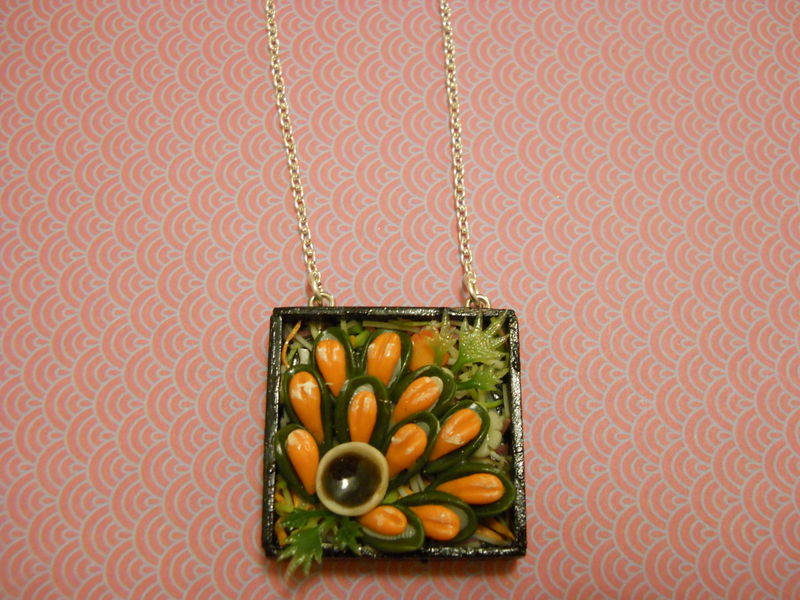 Sushi Bento Box Necklace 5 - product images  of