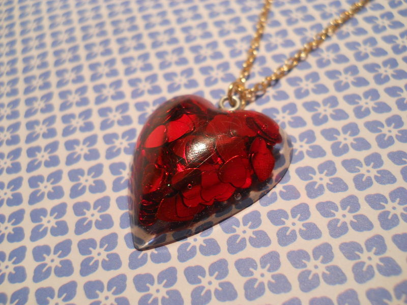 Red LoveHeart Necklace - product images  of