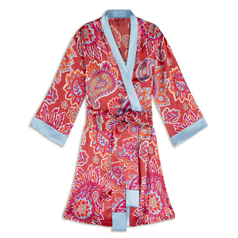 Royal,Paisley,Robe,longstaff longstaff, longstaff longstaff uk, silk robe, silk sleep,