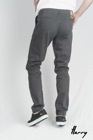 Men's,Sateen,Slate,The,Harry,Skinny,Organic,Chino,monkee genes, monkee genes uk, organic jeans,
