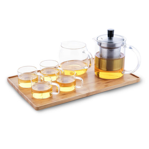 Glass,tea,set,capacitea, capacitea uk, bamboo tea tray, tea tray, china tea tray, china tea,
