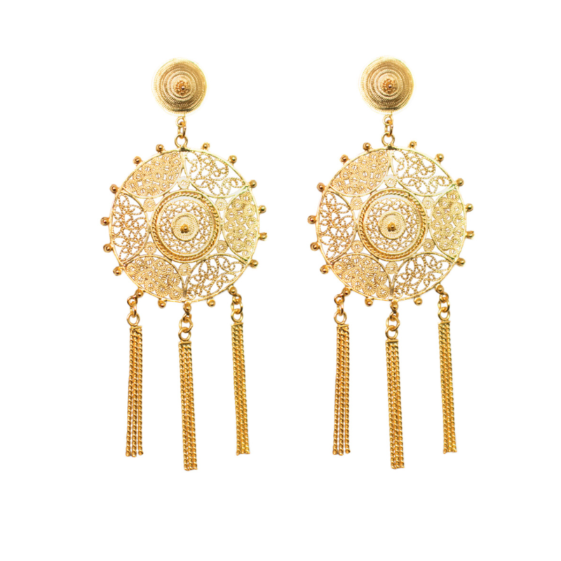Pandora earrings 24ct - product image